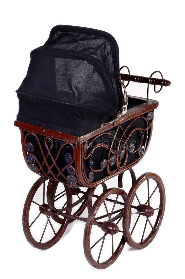Download Old stroller v2. stock photo. Image of expensive, newborn - 1706922