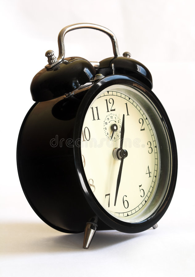 Download Old style alarm clock stock photo. Image of early, life - 281948