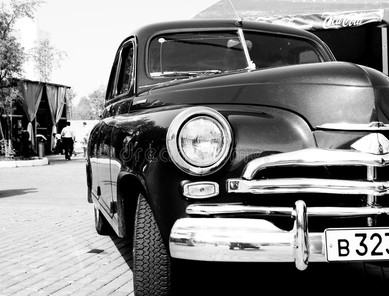 Old style car royalty free stock photo