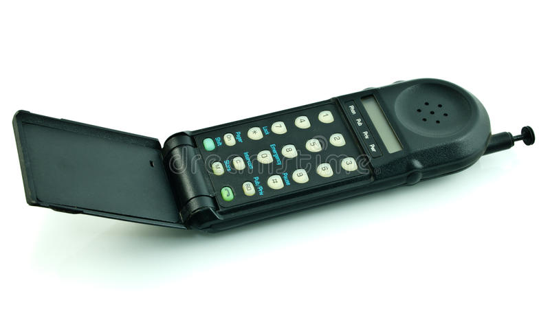 Download Old style cell phone stock photo. Image of keyboard, numbers - 20674720