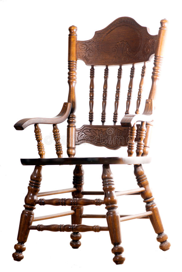 Old Style Chair Royalty Free Stock Photos