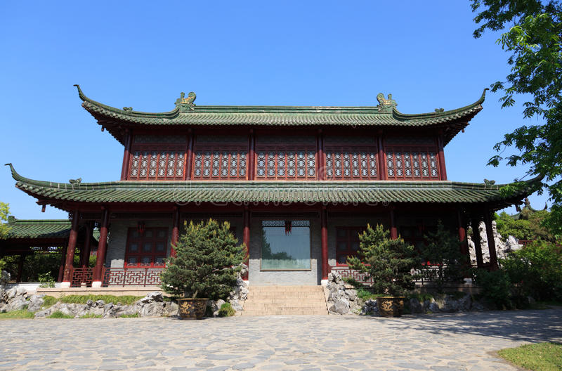 Download Old style chinese building stock photo. Image of garden - 16216894