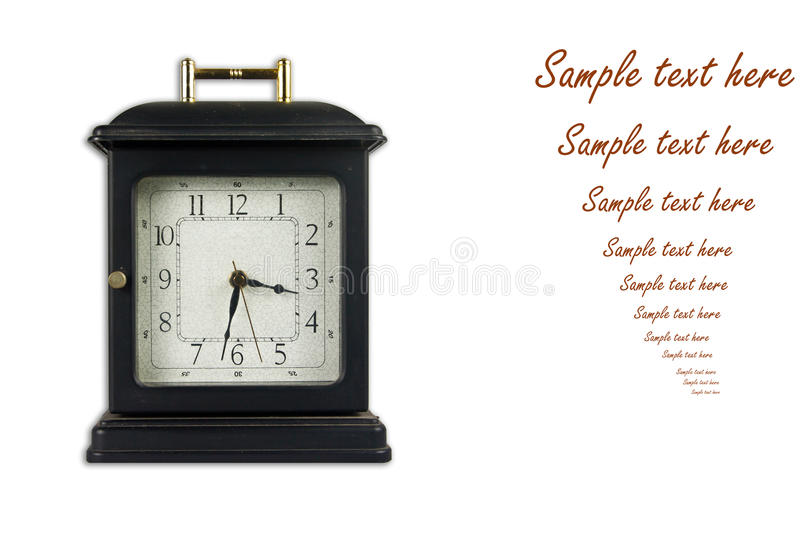 Download Old style clock stock image. Image of lifetime, case - 17038433