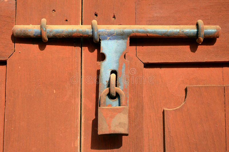 Download The Old Style Of Door Lock. Stock Image   Image Of Design, Concept