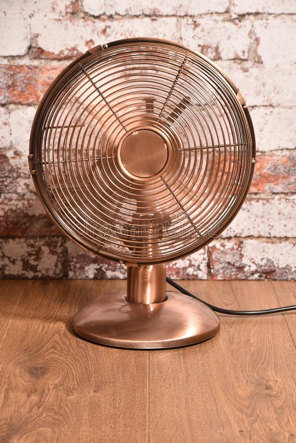 Old style electric fan. stock photography