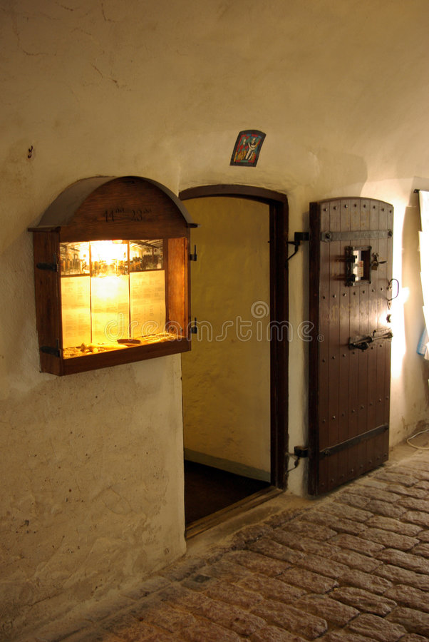 Download Old Style Entrance stock photo. Image of winter, restaurant - 4667488