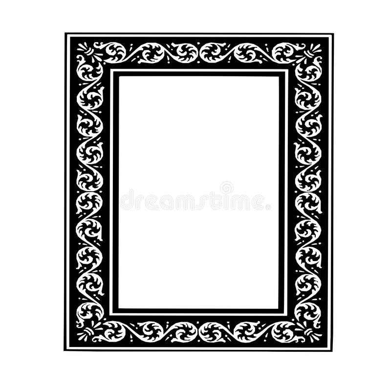 Old-style frame royalty free stock images