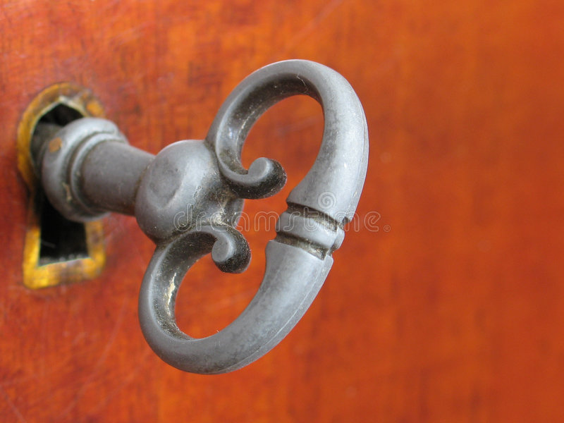Old-Style Furniture Key royalty free stock photos