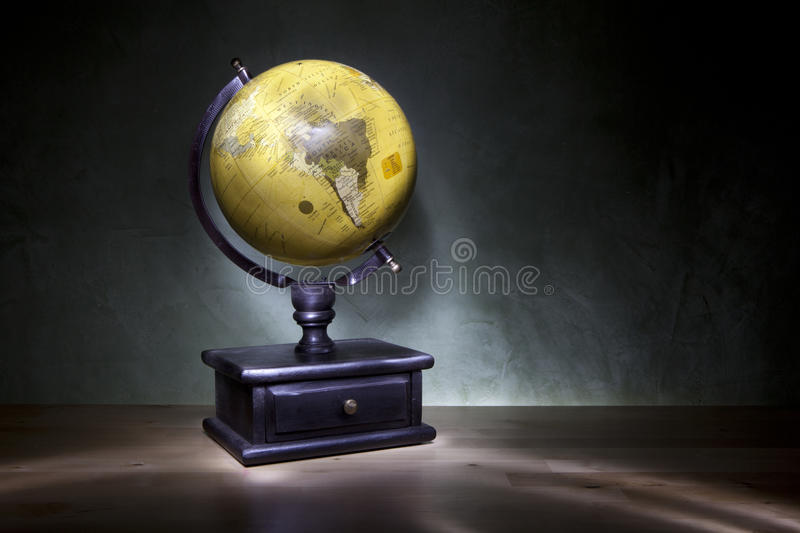 Download Old style globe stock photo. Image of style, world, light - 26083520