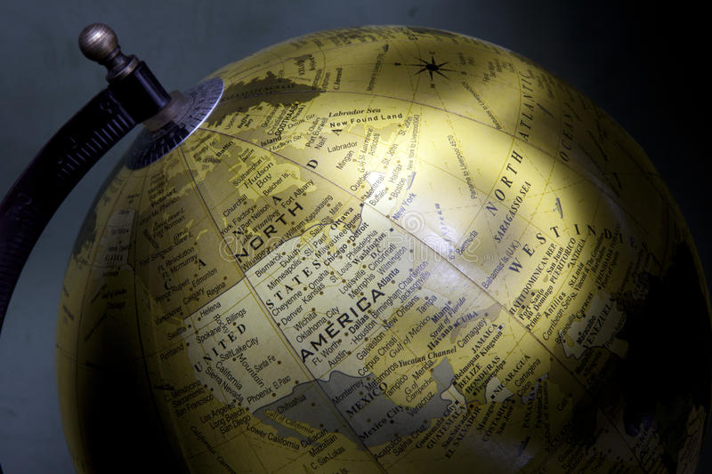 Download Old style globe stock photo. Image of photography, light - 26083528
