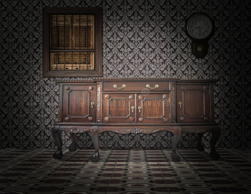 Download Old style interior stock photo. Image of design, nobody - 39514348