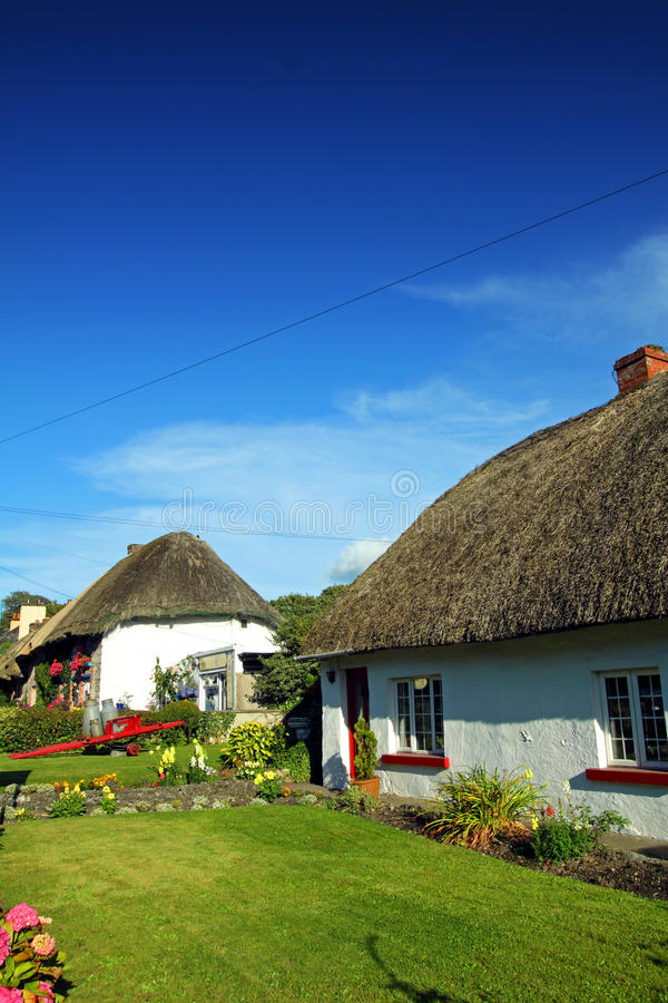 Download Old Style Irish Cottage Adare Co. Limerick Stock Photo - Image of wall, vintage: 21053018