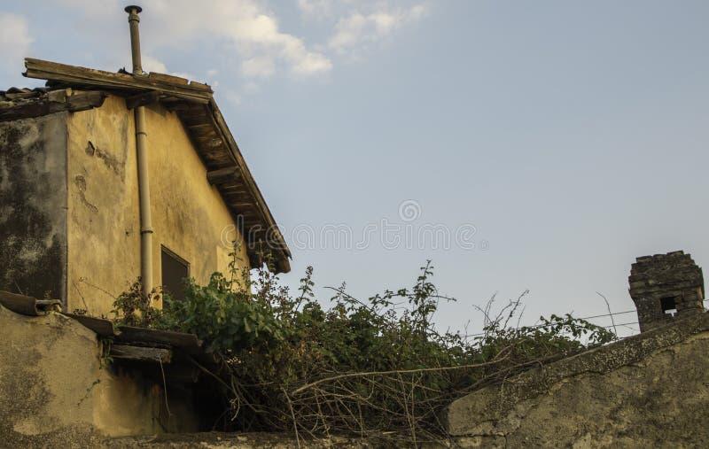Old Style Italian Home stock photo