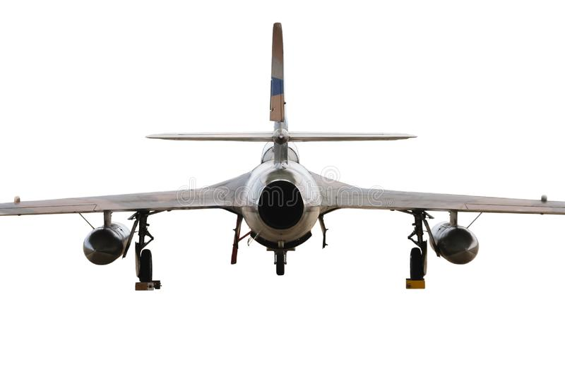 Old Style Jet Fighter stock photography