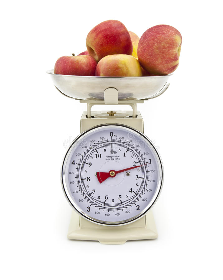 Old Style Kitchen Scales Stock Photos