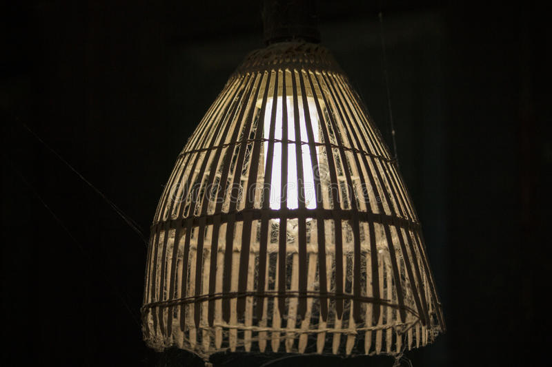 Old style lamp royalty free stock photos