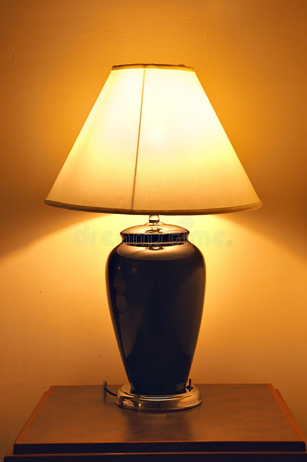 Download Old style table lamp stock image. Image of light, retro - 21538391
