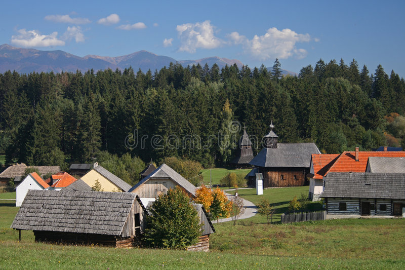 Download Old style village stock photo. Image of country, folk - 3557716