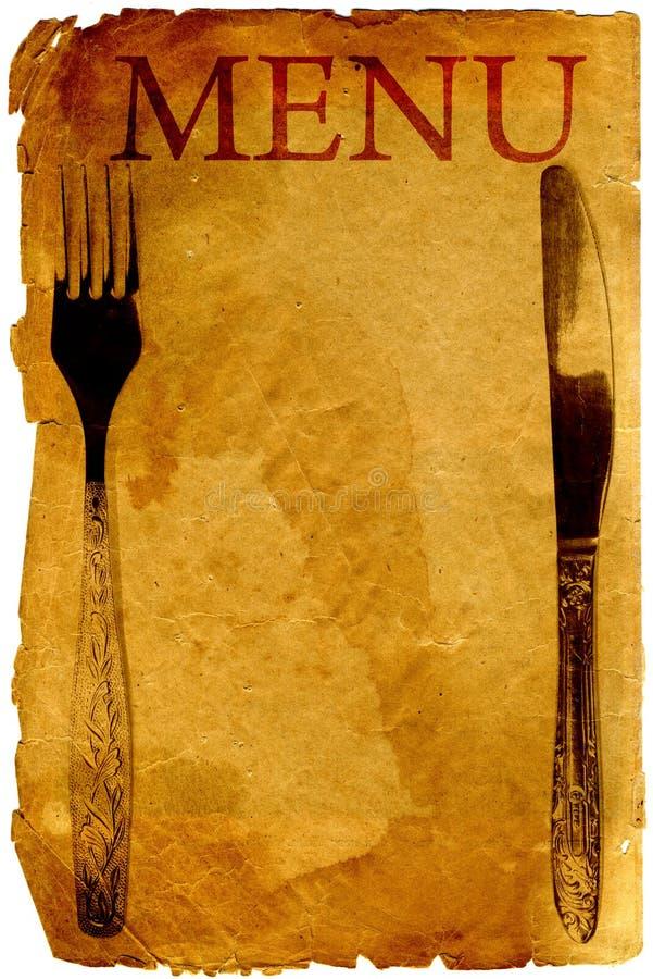Download Old style vintage menu stock illustration. Image of antique - 13404150