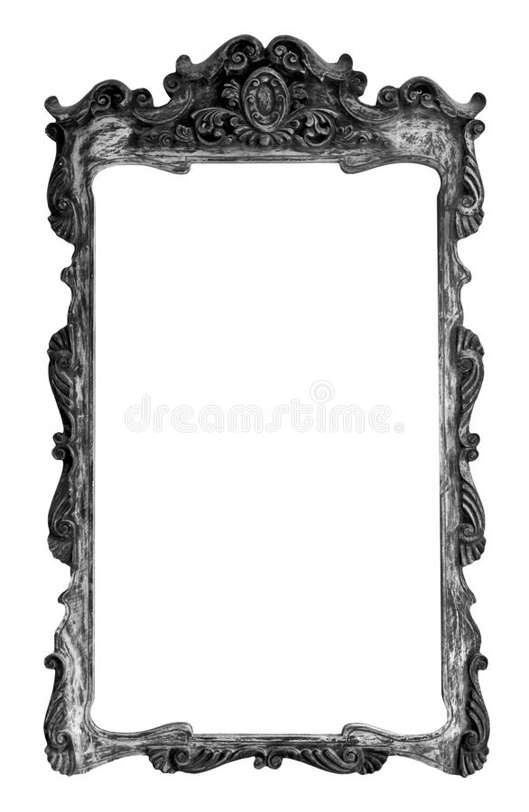 Old style wood frame royalty free stock photos