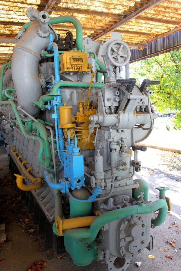 Old submarine engine