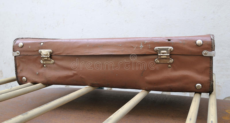 Download Old suitcase stock photo. Image of rumple, wall, shabby - 15106230