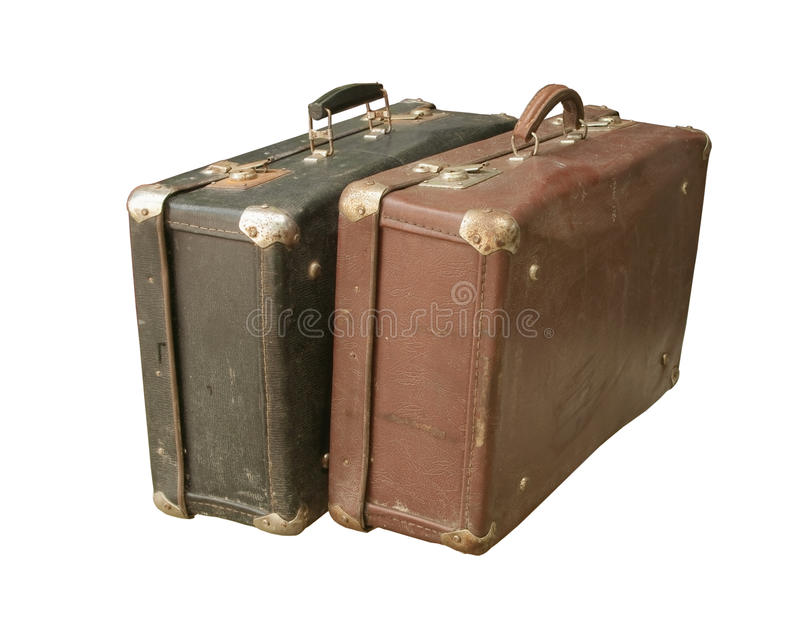 Old suitcase royalty free stock photos
