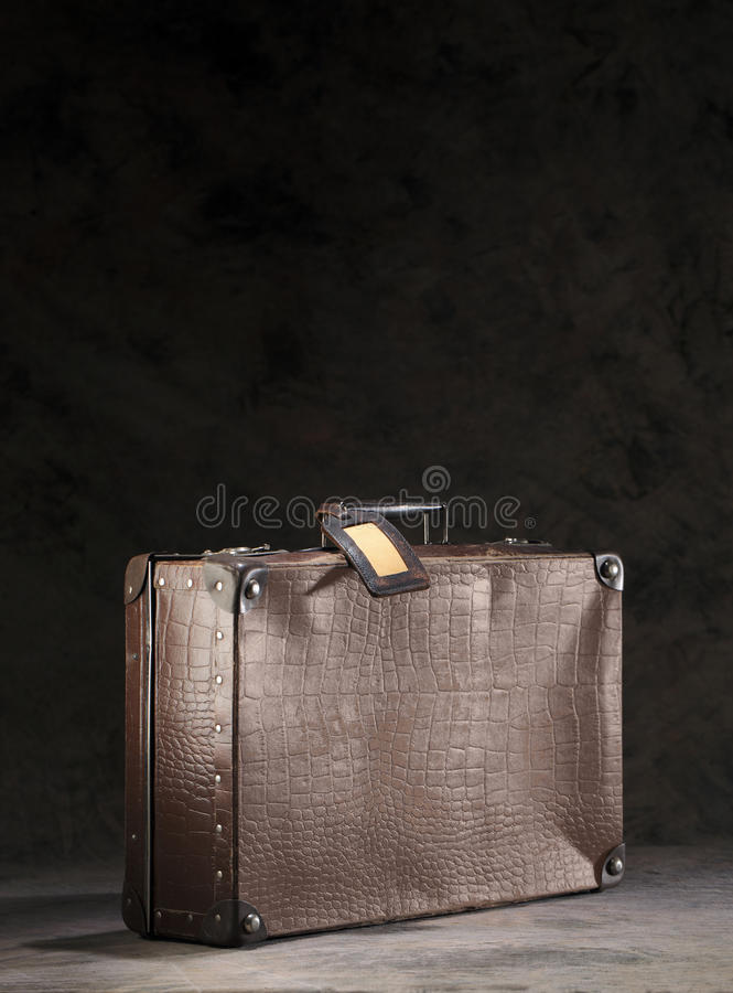 Download Old suitcase stock photo. Image of obsolete, antique - 20643514