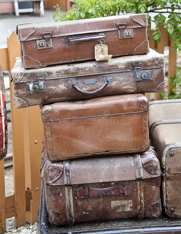 Download Old Suitcases Stock Photos - Image: 19768013