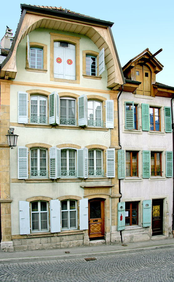 Old Swiss House 16 royalty free stock photos