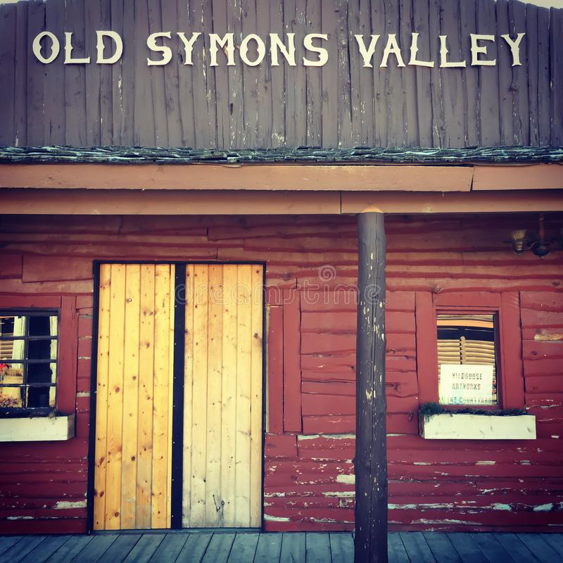 Old symons valley royalty free stock images