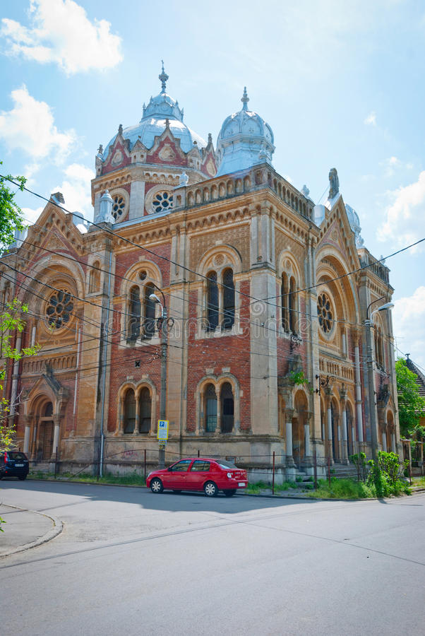 Old Synagogue in Timisoara, Romania royalty free stock image