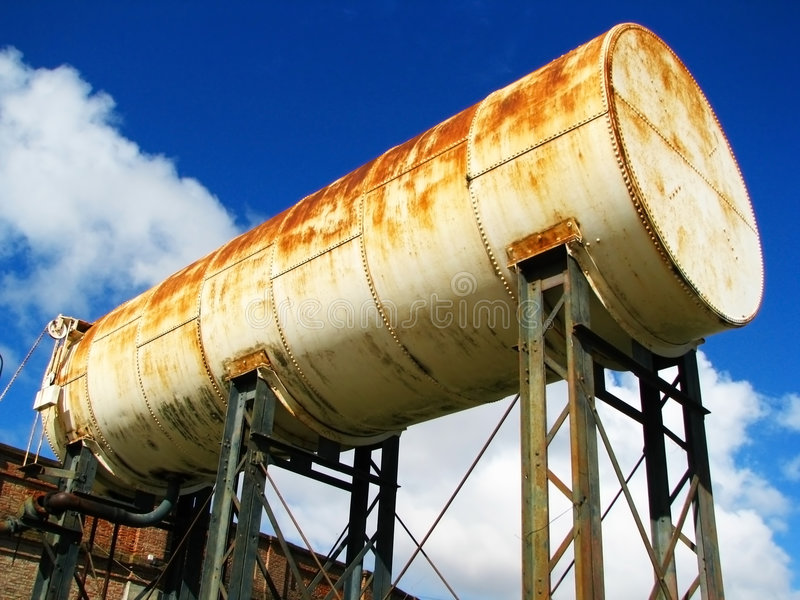 Download Old tank 1 stock image. Image of rusty, concept, water - 6190671