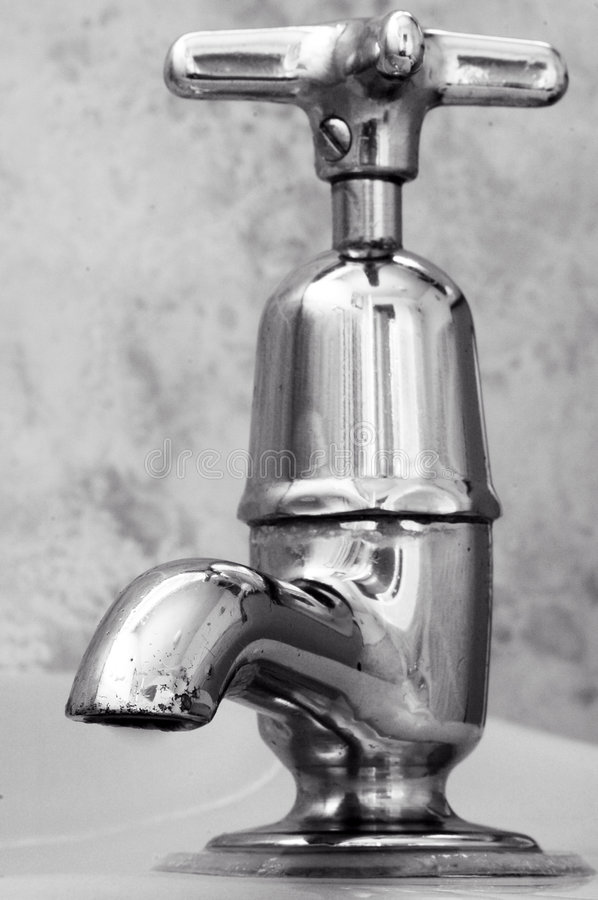 Old Tap royalty free stock image