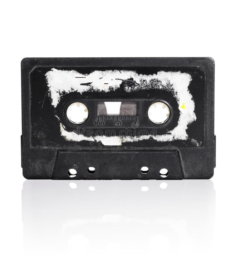 Download Old Tape stock image. Image of black, sound, object, tape - 22867435