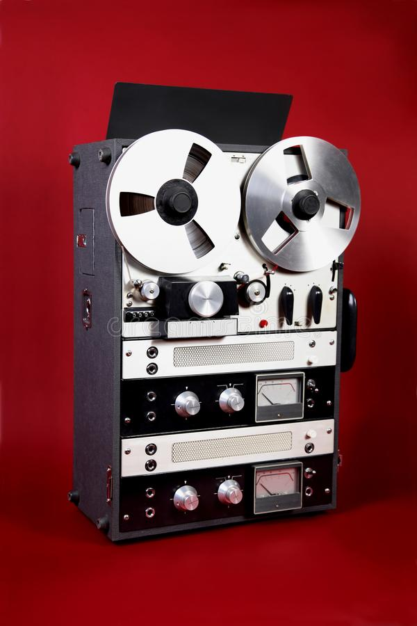 Old Tape Deck royalty free stock photos