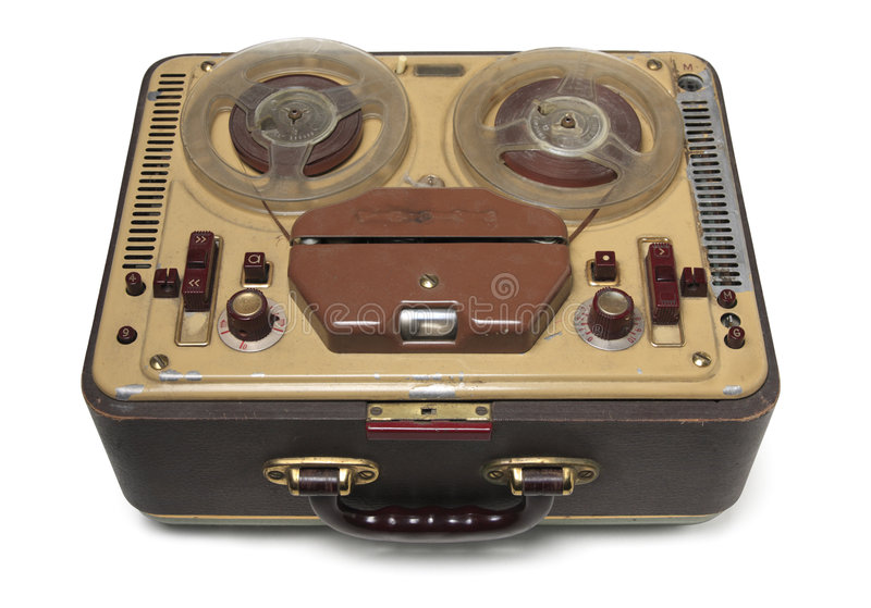 Old fashioned tape recorder 91