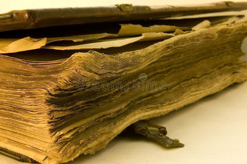 Download Old tattered book stock image. Image of book, history - 3563769