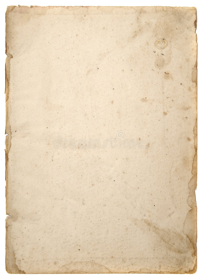 Old tattered textured paper4 royalty free stock photos