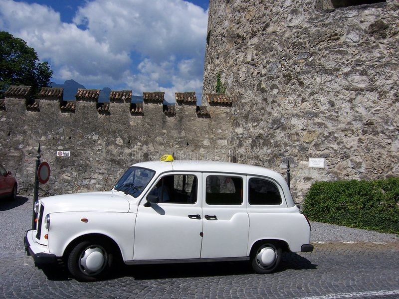 Download Old Taxi Cab stock image. Image of antique, german, automobile - 2369659