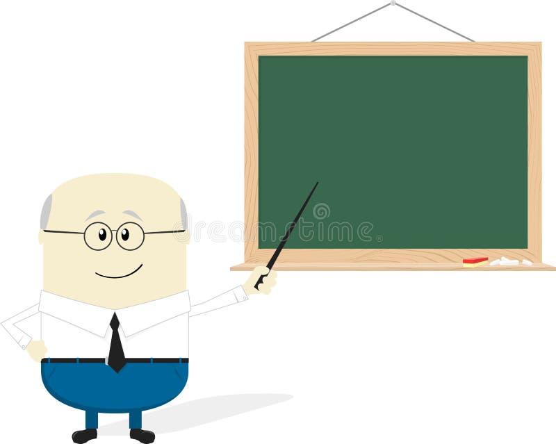 Old teacher cartoon