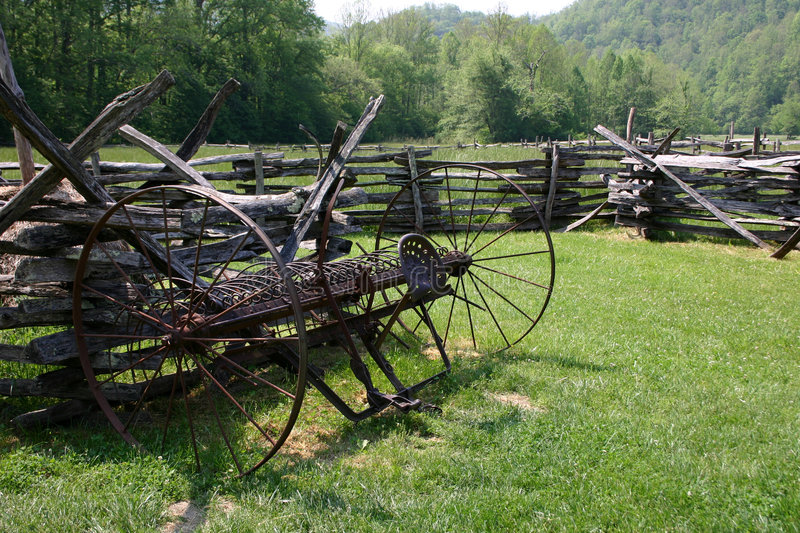 Old Technology - Great Smoky Mountains National Pa Stock Photography