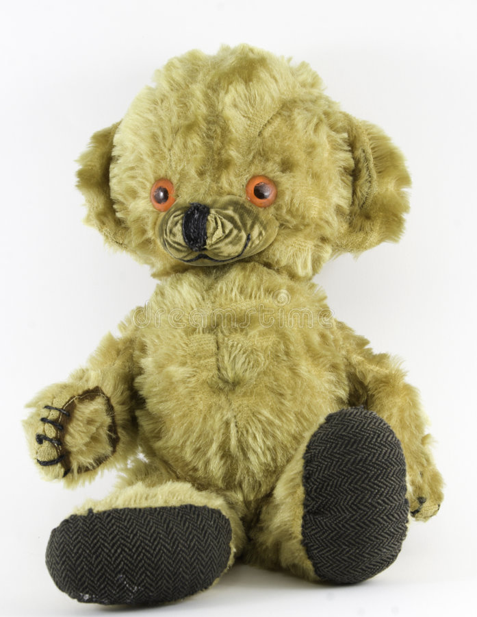 Old Teddy Bear stock photos
