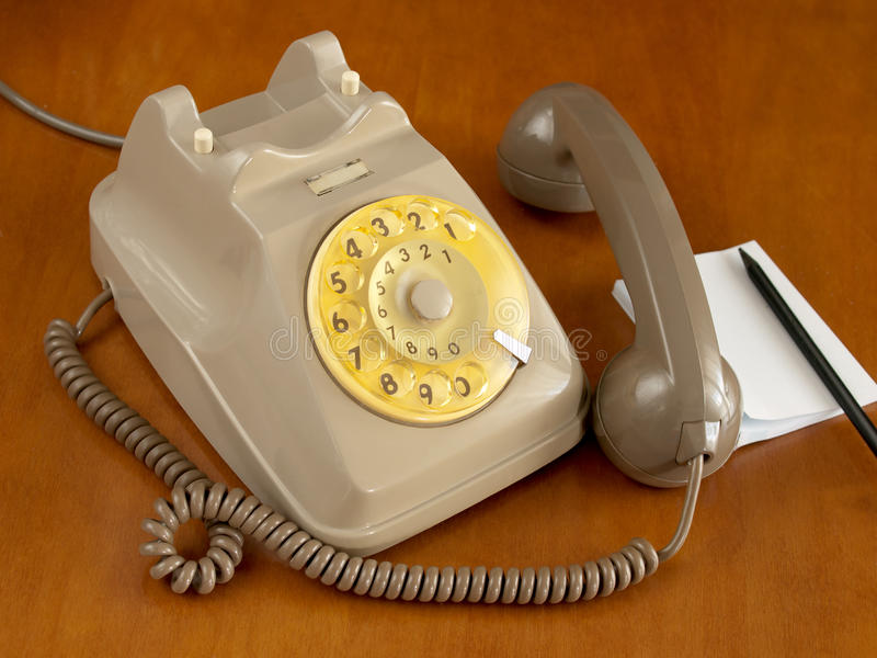 Download Old telephone stock image. Image of answer, vintage, ring - 26977735