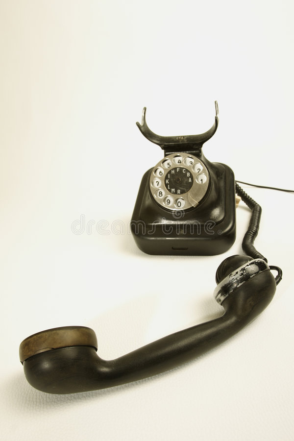 Download Old telephone stock image. Image of phones, converse, connecting - 502727