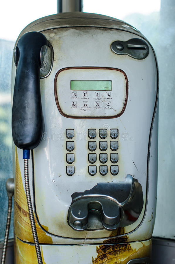 Download Old Telephone Booth stock image. Image of communication - 34381731