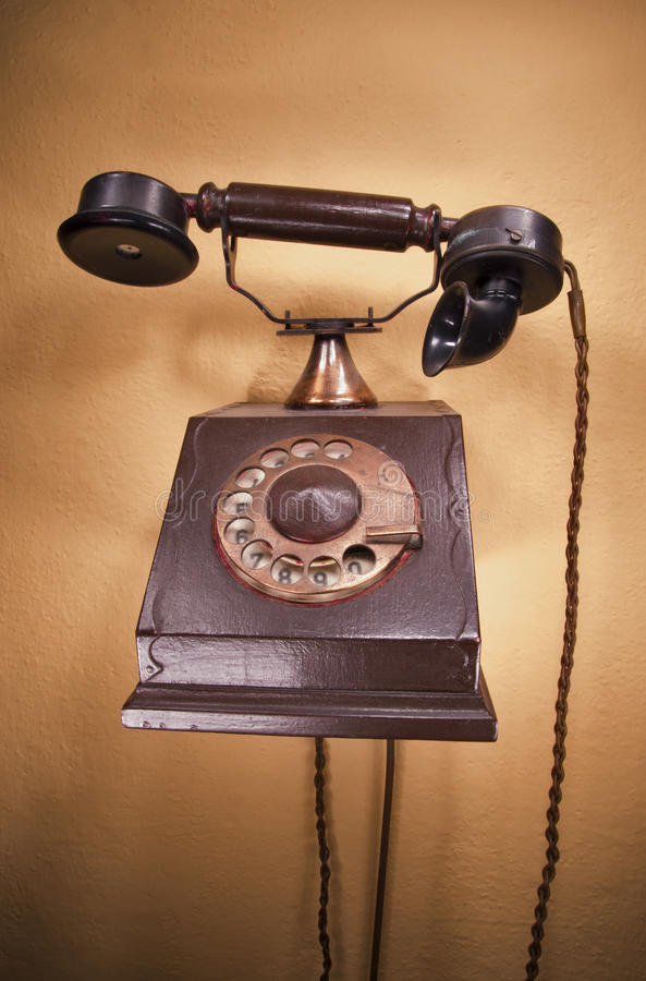 Download Old telephone stock photo. Image of ancient, aged, obsolete - 33125074