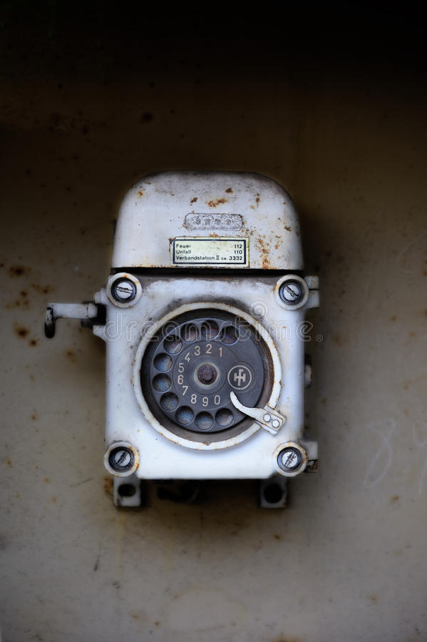 Download Old Telephone (rotary Dial) Stock Photo - Image: 17494108