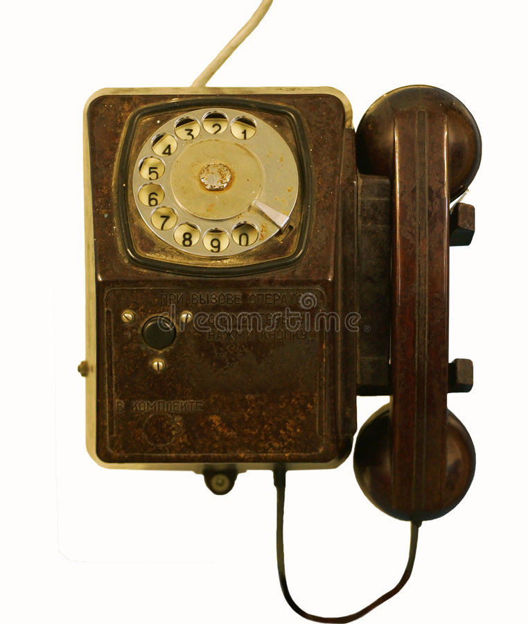 Old telephone set