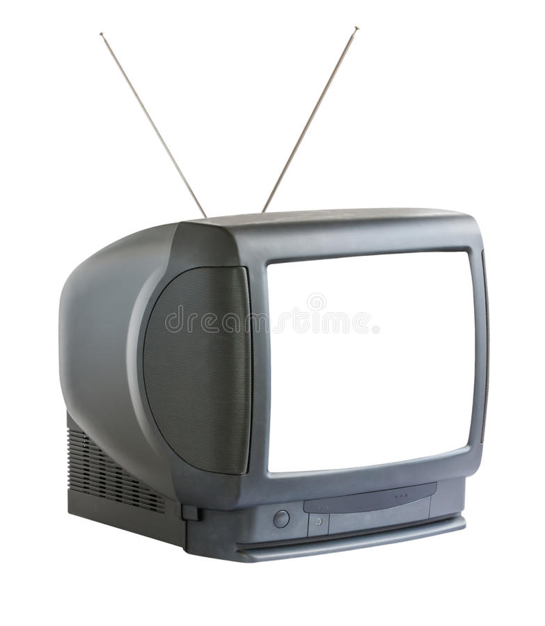 Download Old television isolated stock photo. Image of vintage - 32315666